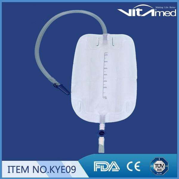 Urine leg bag 500 ml KYE09