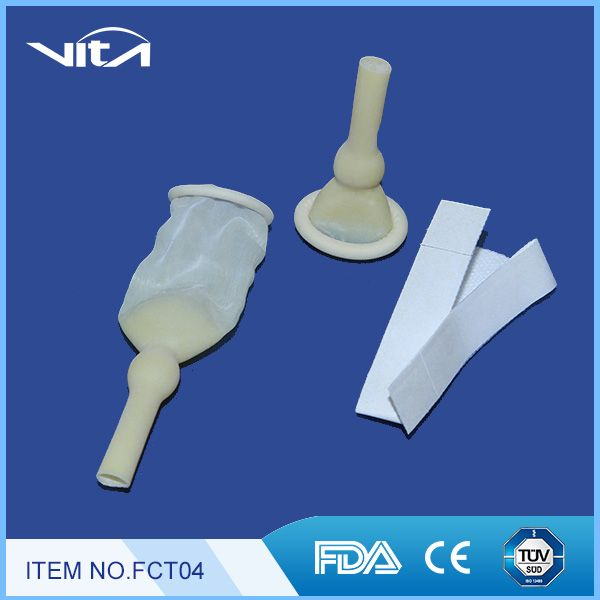 Male External Catheters with Adhesive Tape FCT04