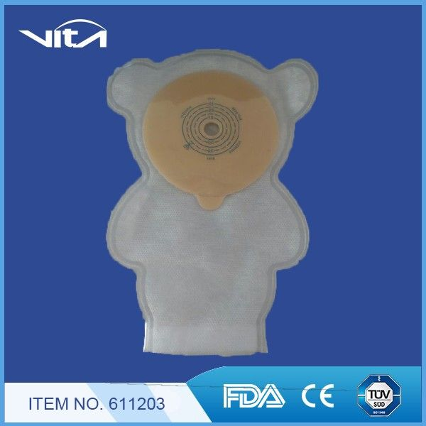 Baby Care One piece colostomy bag 611203