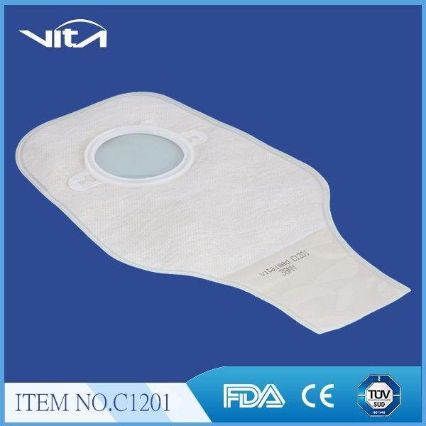 Two piece colostomy bag C1201
