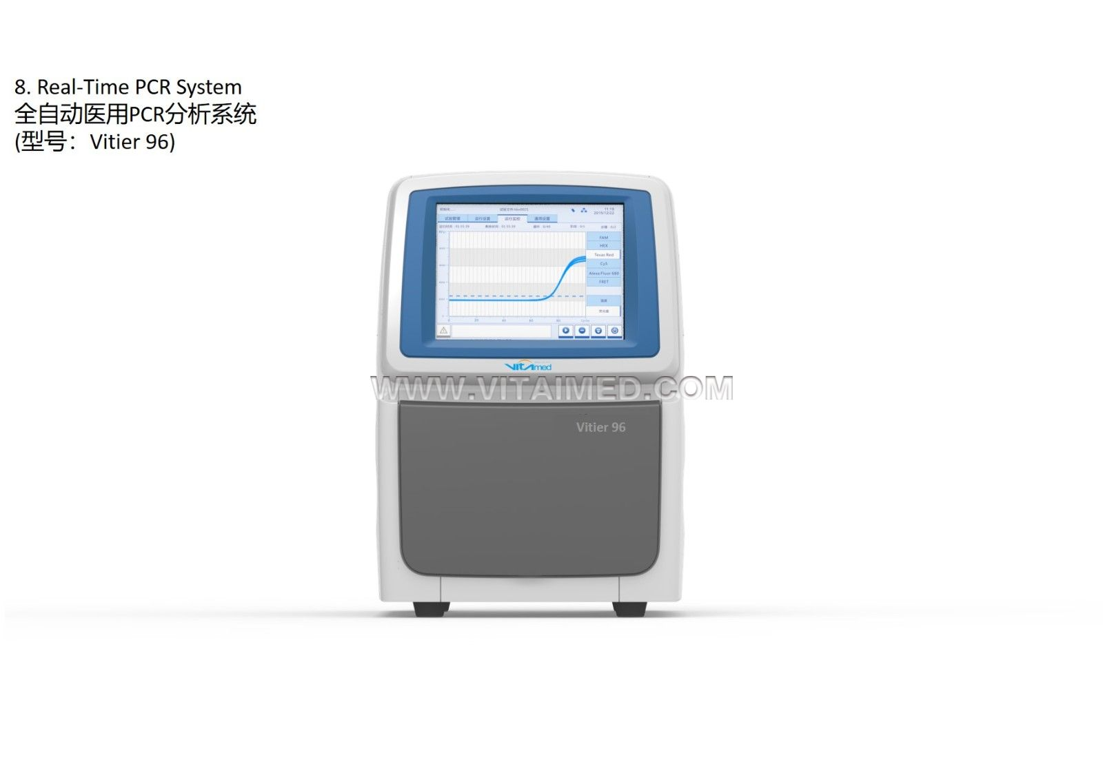 Real-Time PCR System-Vitier 96